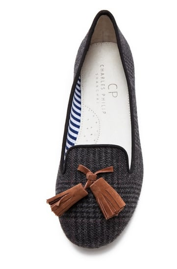 The tassel loafer trend isn't going anywhere — get some much-needed comfort with these Charles Philip Lana Wool Loafers ($155).