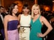 Aubrey Plaza and Rashida Jones met up with Reese Witherspoon during a commercial break at the Golden Globes.