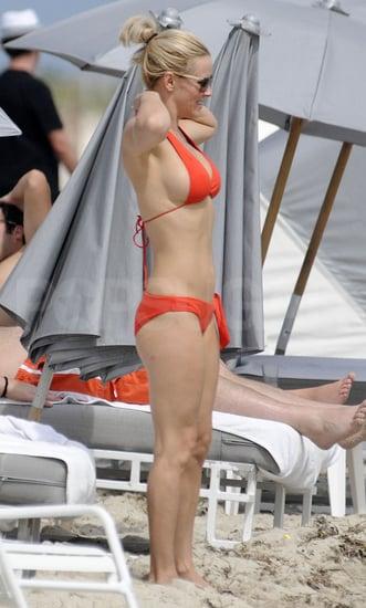 Jenny McCarthy Bikini Pictures in Miami With Boyfriend Jason Toohey