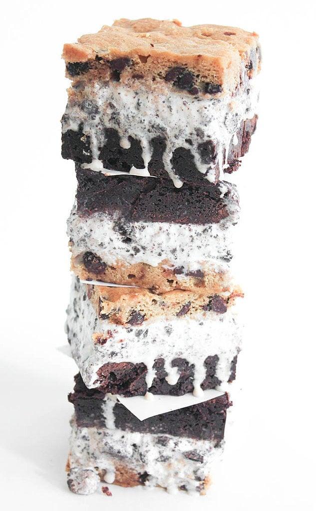 Slutty Brownie Ice Cream Sandwiches