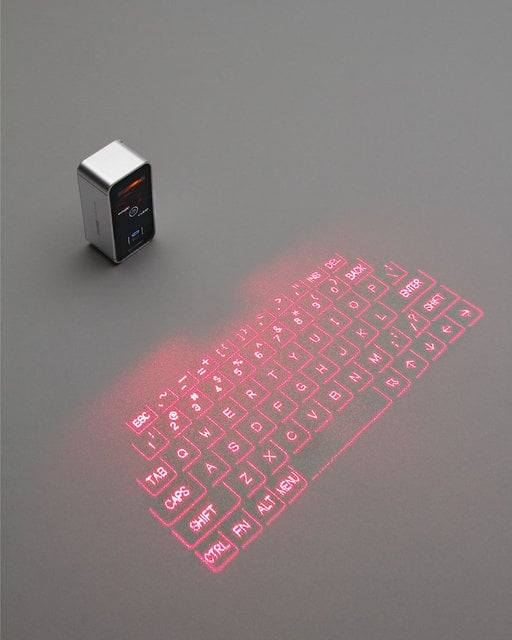 AGS Laser Projection Keyboard