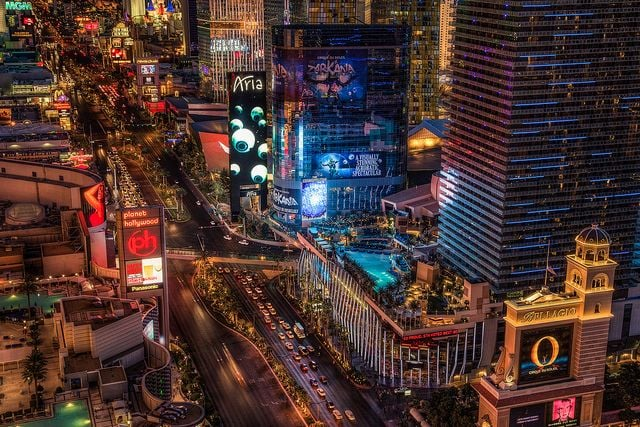 The Vegas Strip — Las Vegas, NV
