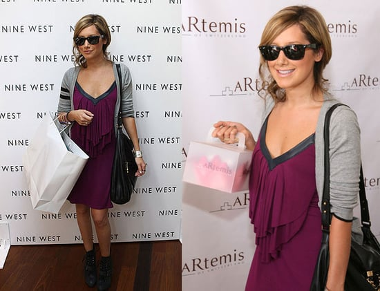 Ashley Tisdale Stocks Up On 2008 Emmy Awards Swag