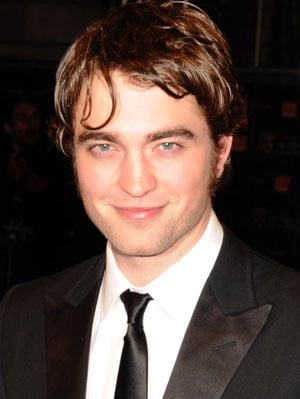 Robert Pattinson Shaves at the 2010 BAFTA Awards, Robert Pattinson Hair at the 2010 BAFTA Awards