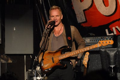 Sugar Bits - The Police Announce World Tour