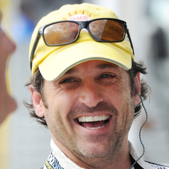Pictures of Patrick Dempsey at the Homestead-Miami Speedway
