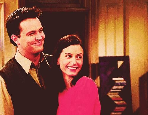 And Chandler and Monica's, Too