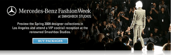 On Our Radar: AmEx Offers VIP Access at LA Fashion Week