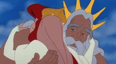 King Triton, The Little Mermaid