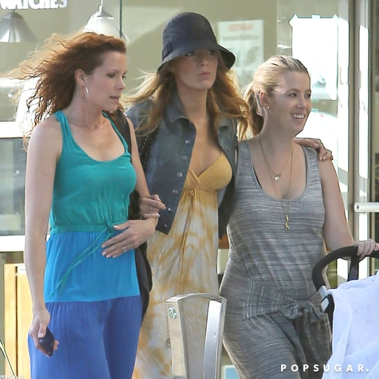 Blake Lively and Sister Robin in Beverly Hills Pictures