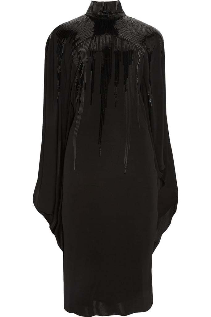 Roberto Cavalli Sequined Jersey-Crepe Dress