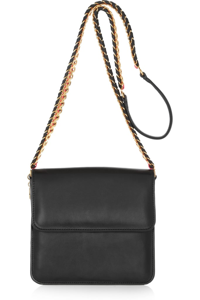 I love the boxy shape and all-seasons appeal of this shoulder bag (and I bet it could be a crossbody, too), but the braided chain strap gives it a little extra flair. Consider this Stella McCartney faux leather shoulder bag ($1,285) the gift I would never buy myself, but want tenfold. — Marisa Tom, associate editor