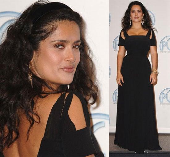 Sexy Salma Announces Oscar Nominations