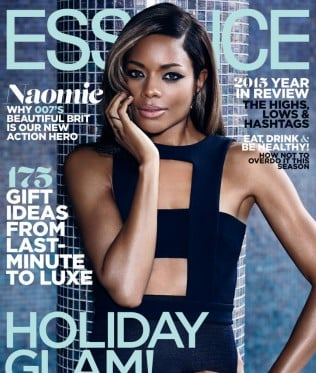 FROM ESSENCE: Naomie Harris Heats Up the December ESSENCE Cover