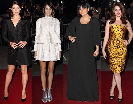 Pictures of Gemma Arterton, Lily Allen, Jon Hamm, Ed Westwick, Aaron Johnson at GQ Men of Year Awards Full List of Winners 2010