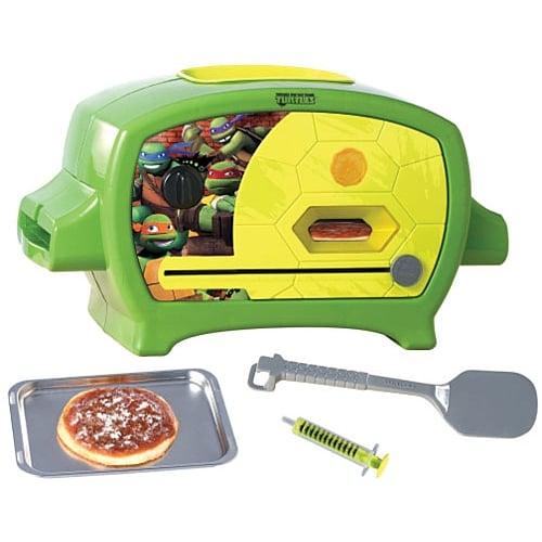 For 8-Year-Olds: Teenage Mutant Ninja Turtles Pizza Oven