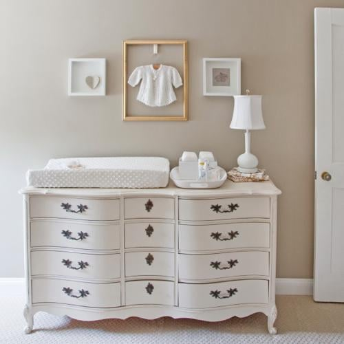 All-White Nursery From Nesting LLC