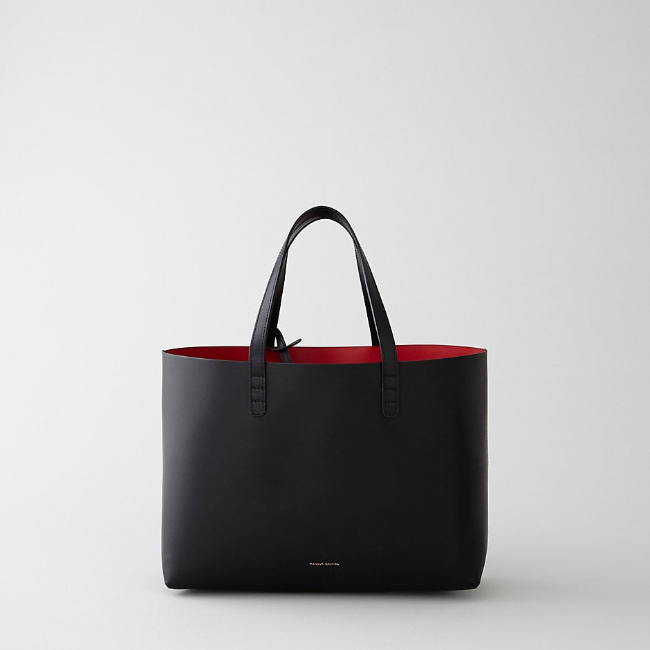 This Mansur Gavriel Tote ($425) is a favorite among street style stars and fashion editors. Kirsten Dunst is the latest celeb to be spotted with one of their bags. The Italian leather tote comes in a variety of neutral shades on the outside paired with beautiful saturated colors on the inside. It's the kind of material that gets better over time, so invest now and enjoy for years to come. — Lisa Sugar, editor in chief