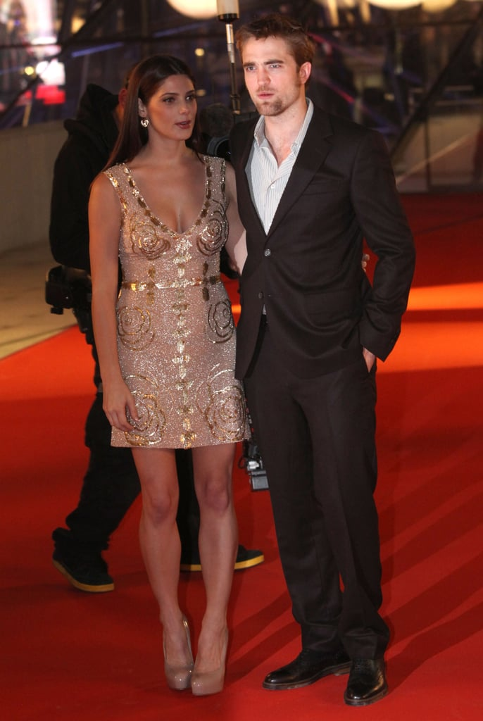 Robert Pattinson and Ashley Greene at the premiere of Breaking Dawn: Part I in Brussels.