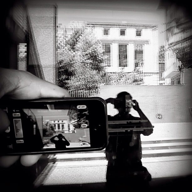 This Glass/iPhone collaboration image was taken at UC Berkeley. Source: Instagram user koci_glass