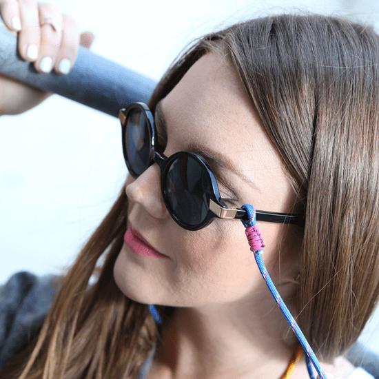 DIY: Sunglasses Strap