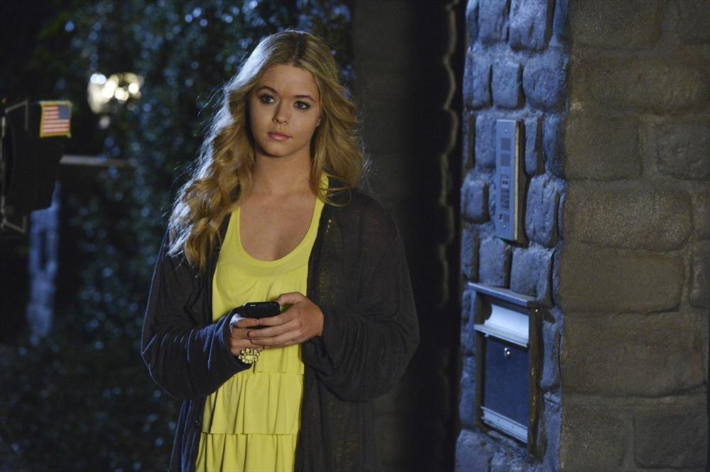 Alison (Sasha Pieterse) is back! Source: ABC Family
