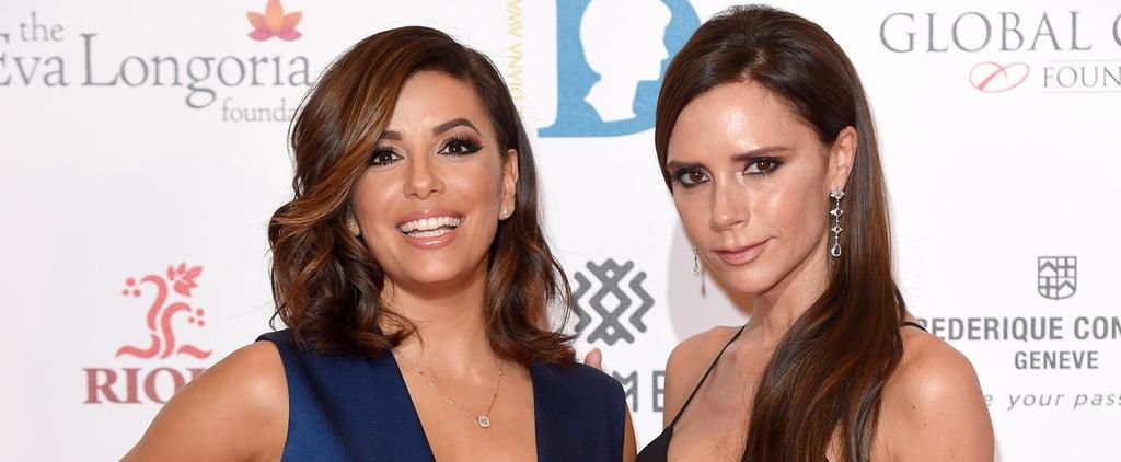 Victoria Beckham and Eva Longoria Take BFF Goals to a Whole New Level