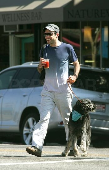 Zachary Walks a Pup, I Swoon — Hot Day, Hot Dog, Hot Spock