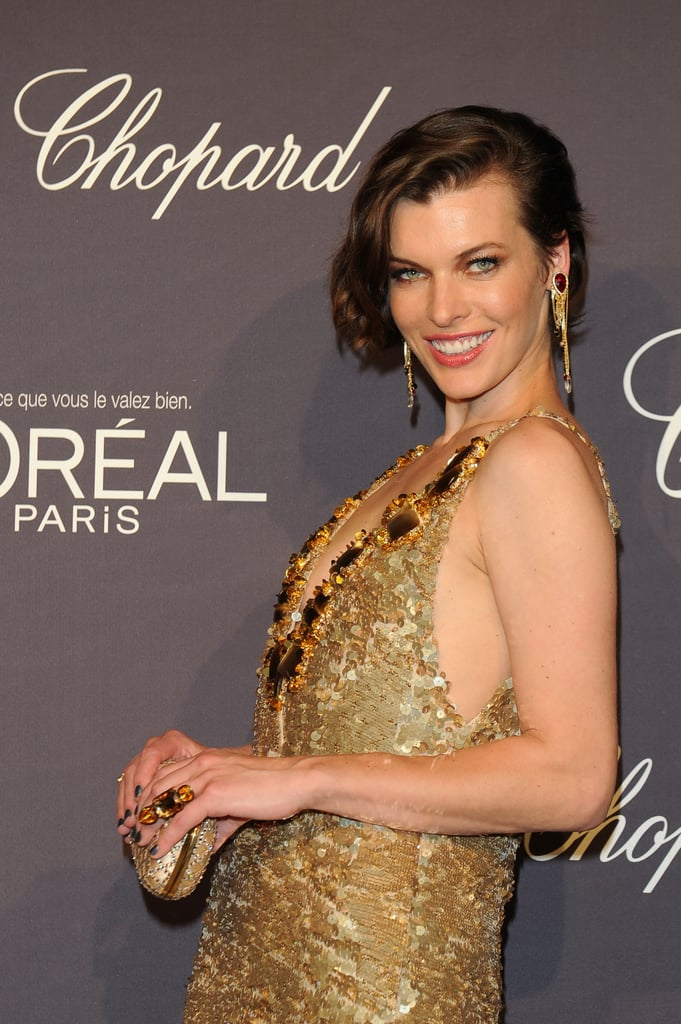 Milla Jovovich Tells Us Her Cannes Highlight During a Night With Heidi, Alec and the Hiltons