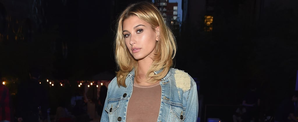 "Hailey Baldwin Says Her ""Jacket Game"" Will Be Just as Hot as Her Swimwear"