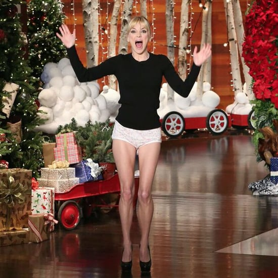 Anna Faris in Her Underwear on The Ellen DeGeneres Show