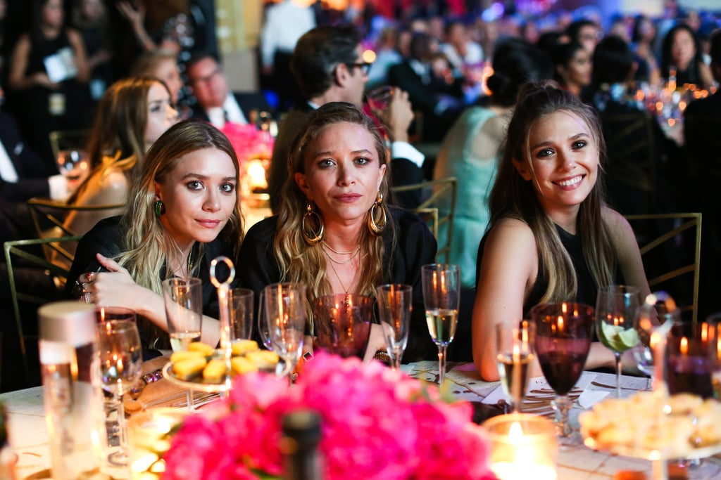 The Olsen Sisters' Matching Black