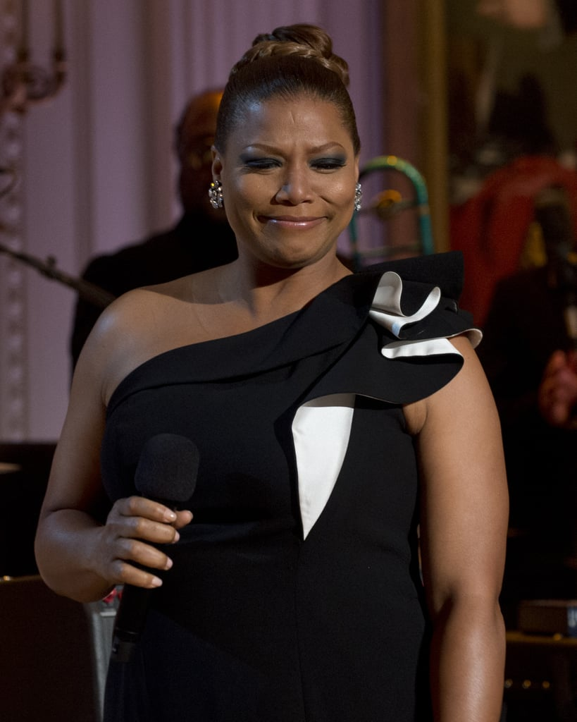 Queen Latifah performed at the concert.
