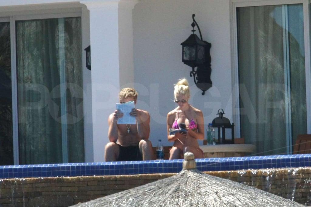 Heidi Montag and Spencer Pratt in Cabo