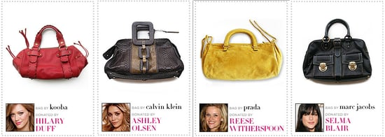 Celebrities Auction Off Handbags for Charity