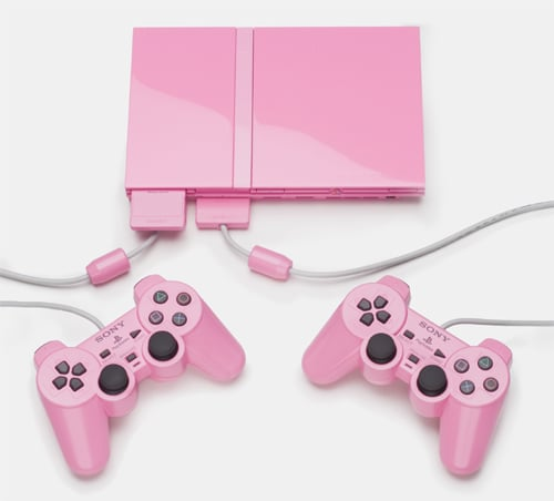 Special Edition Pink Playstation 2 Makes Aussie Debut