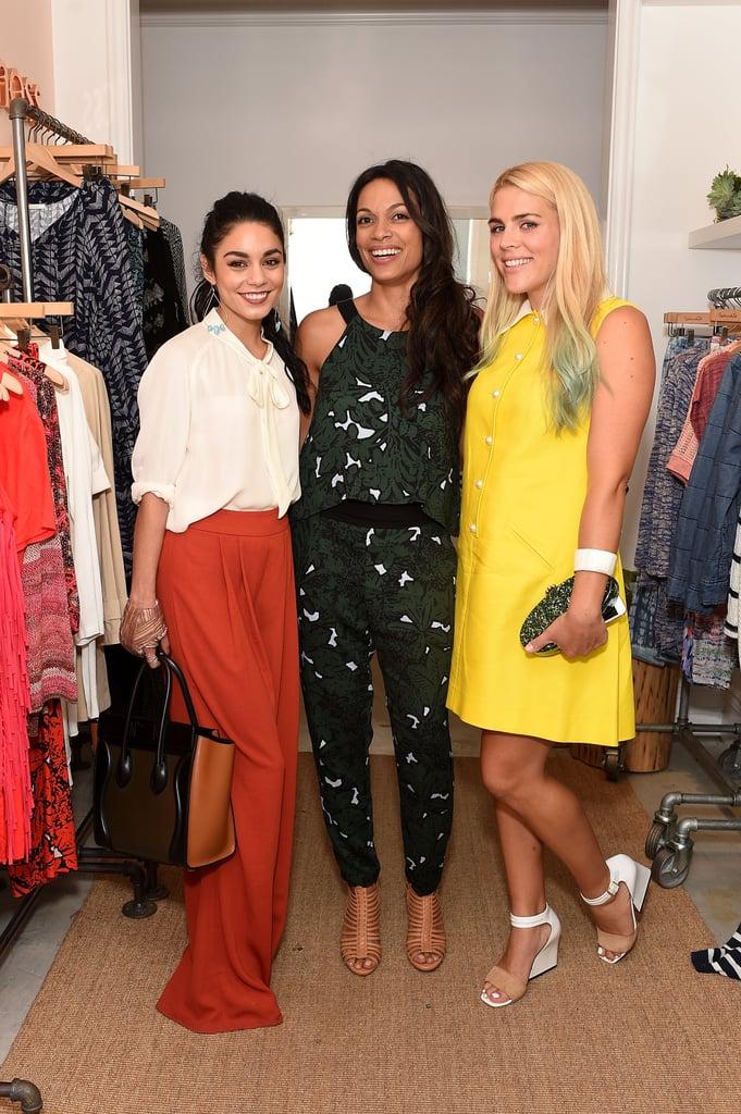 Vanessa Hudgens, Rosario Dawson, and Busy Phillips