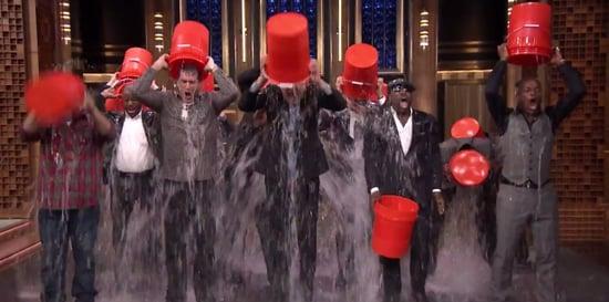 Jimmy Fallon Responds to Justin Timberlake's Ice Bucket Challenge