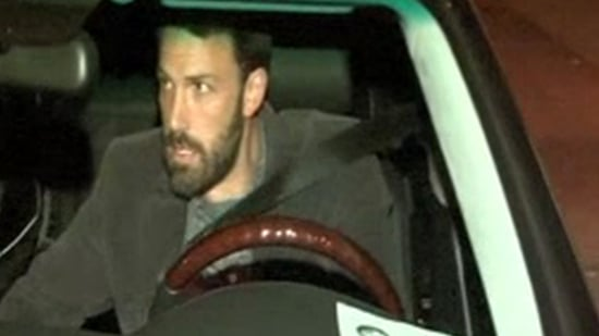 Video of Ben Affleck Driving in Santa Monica to Attend The Town and Gone Baby Gone Screening