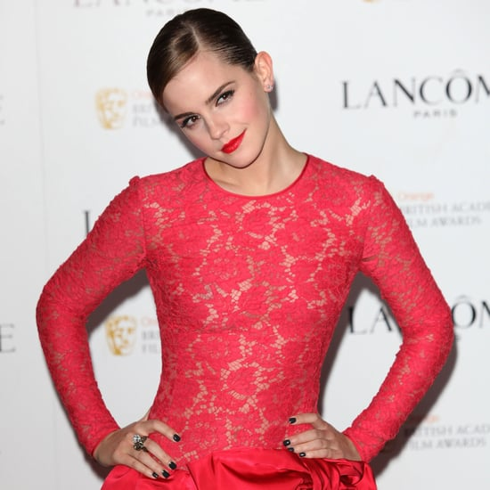 Emma Watson at Lancome Pre-BAFTA Party Pictures