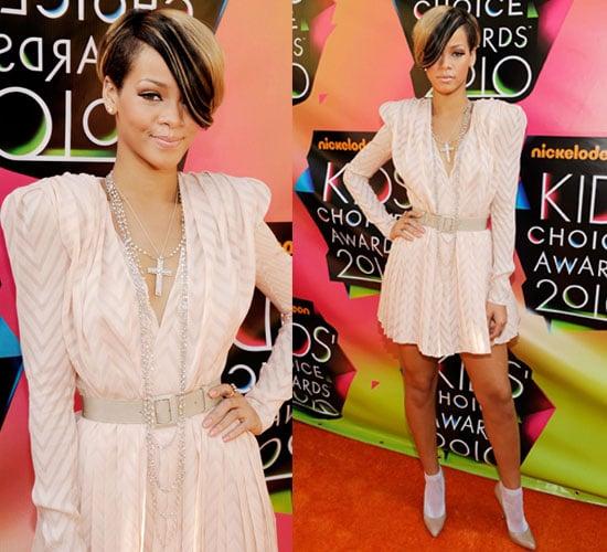 Rihanna at 2010 Kids Choice Awards 2010-03-27 17:20:29