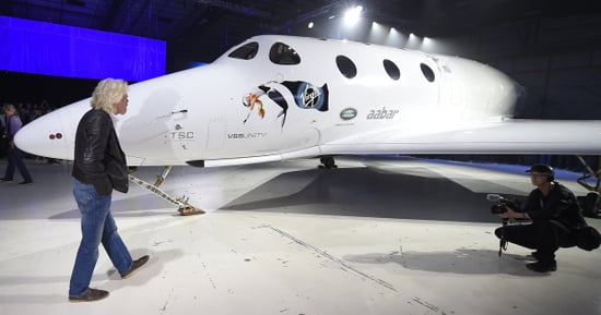 Richard Branson Returns To Passenger Space Travel Race With New Craft