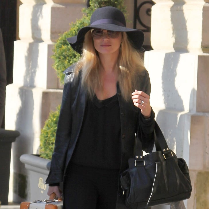 Kate Moss Wearing Hats (Pictures)