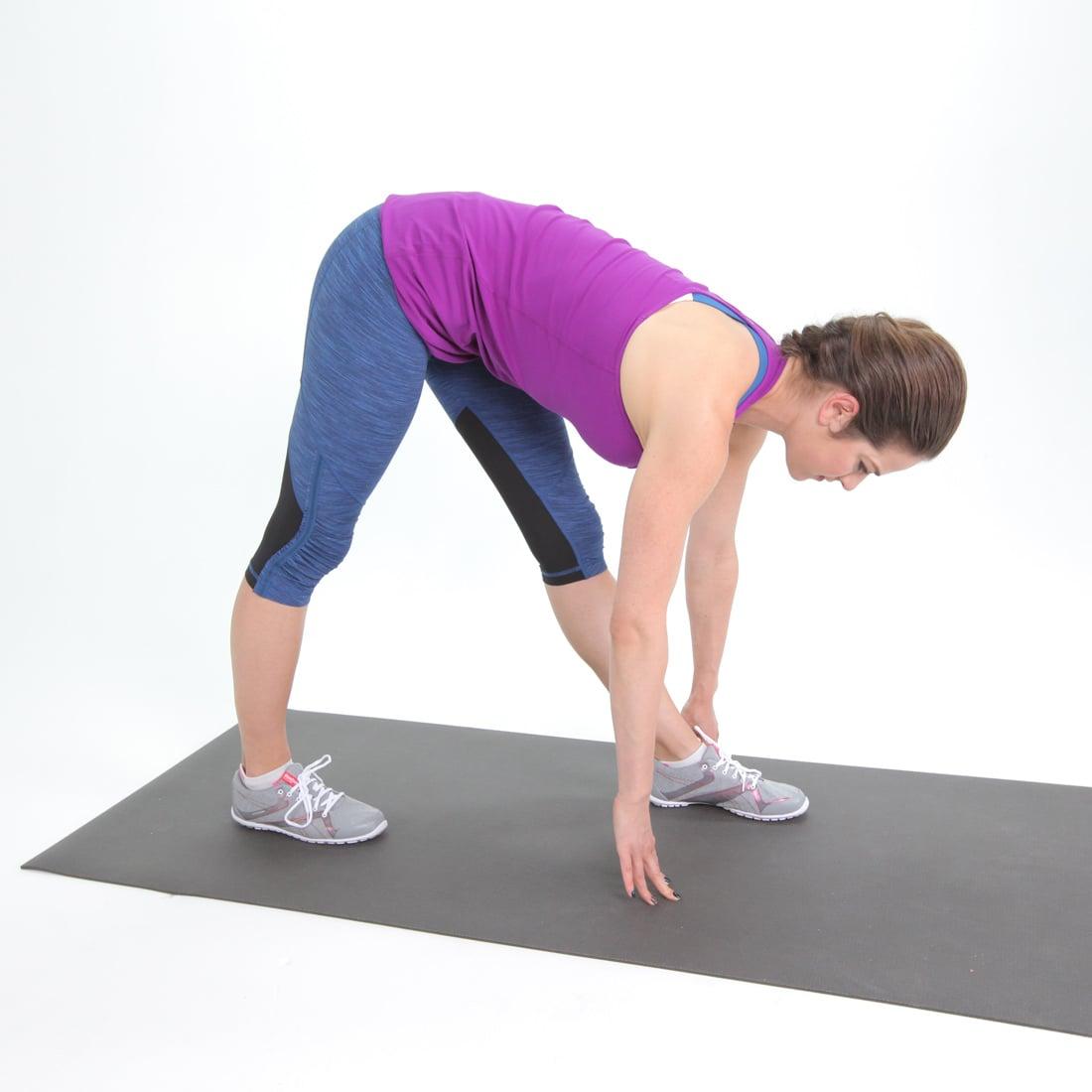 Tight Hamstring: Scissor Hamstring Stretch