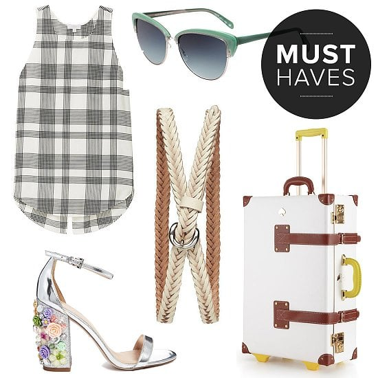 In honor of the hotter, humid days upon us, POPSUGAR Fashion has scouted everything from swimsuits to sandals, cover-ups to weekend carryalls. Shop our editors' June must-have fashion picks right now, and your lazy yet stylish days of Summer can start.