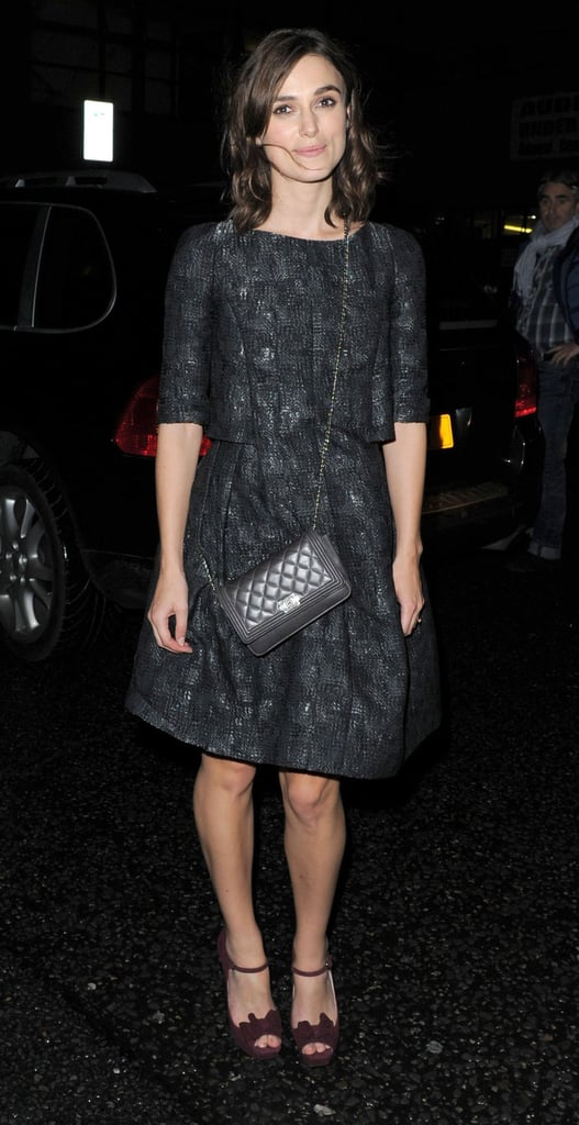 Keira Knightley Celebrates Chanel With a Night on the Town