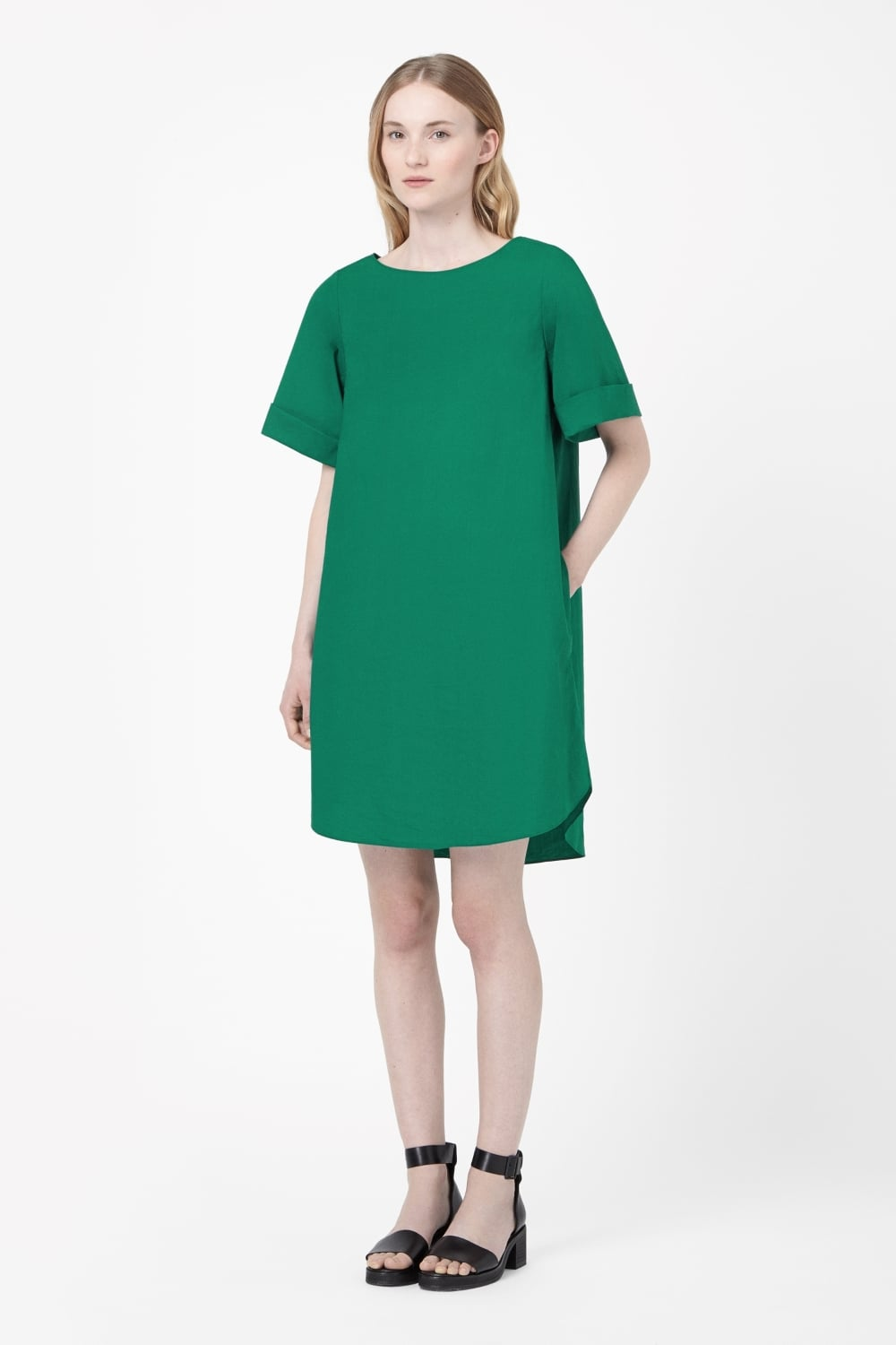 COS Dress With Back Pleat