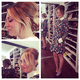 Kaley Cuoco took holiday brunch up a notch in Valentino.  Source: Instagram user normancook