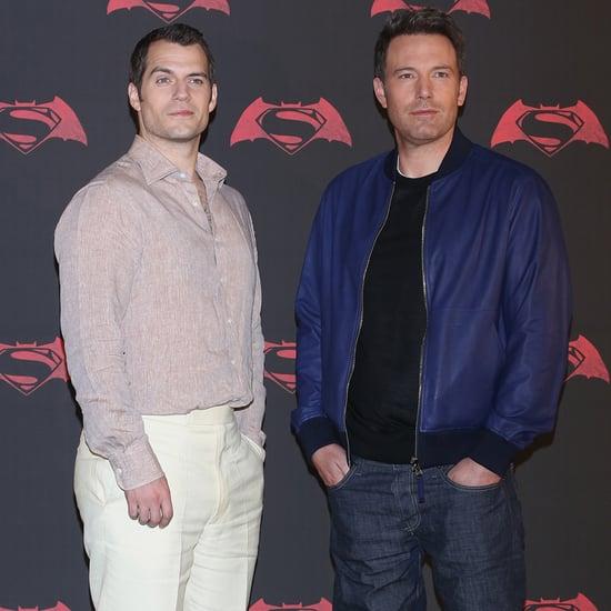 Ben Affleck at Batman v Superman Photocall in Mexico