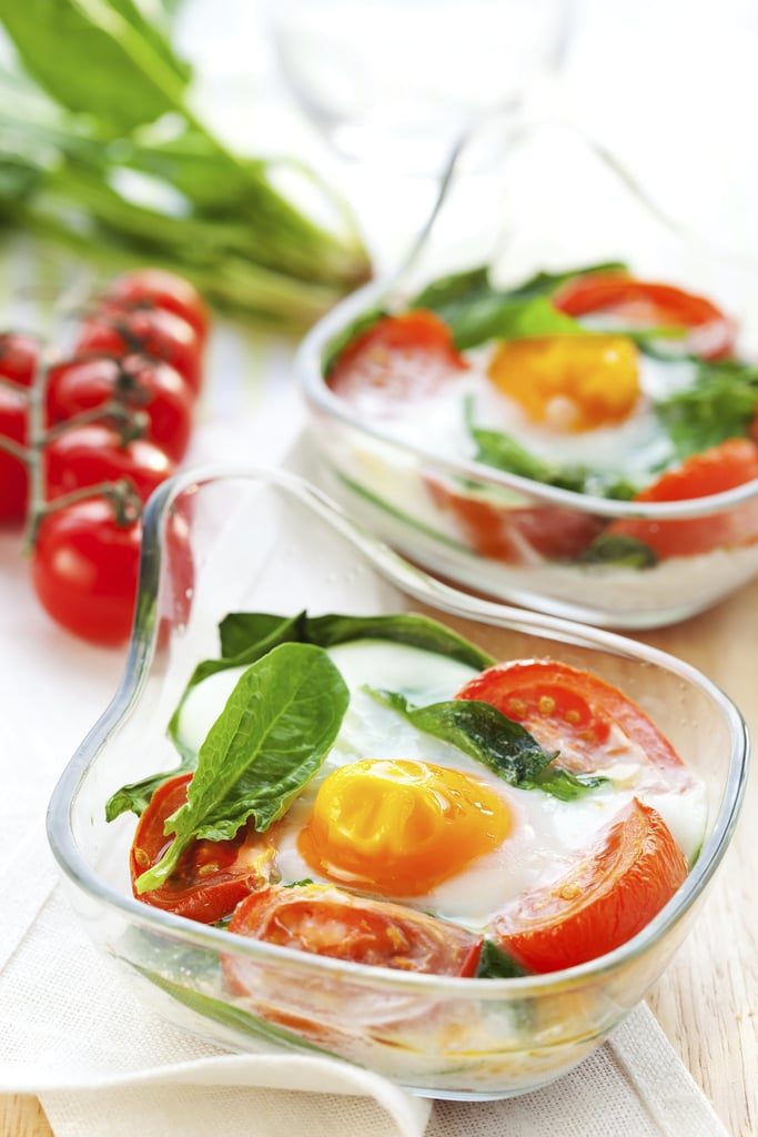 Italian Baked Egg and Vegetables
